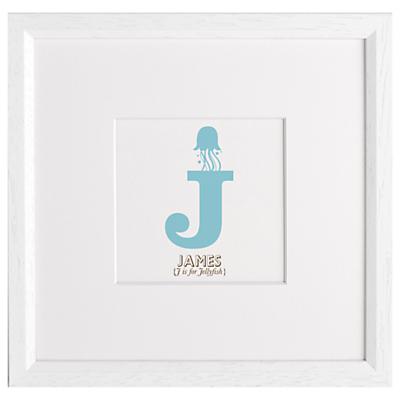 Letterfest Children's Name Animal Alphabet Framed Print