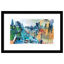 Buy Rob Wilson - Ice Creams In The City Limited Edition Framed Print, 74 x 50cm Online at johnlewis.com