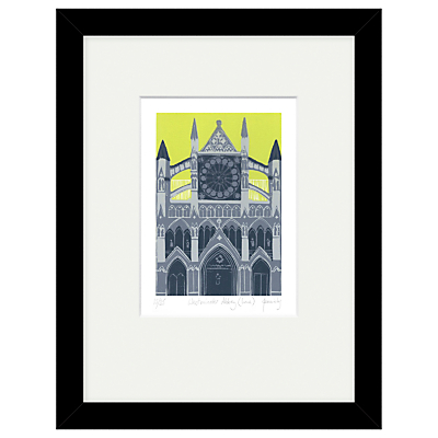 Jennie Ing – Westminster Abbey Limited Edition Framed Print, 34 x 44cm