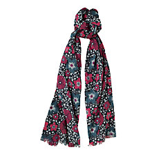 Buy Seasalt New Everyday Scarf, Malo Floral Shadow Online at johnlewis.com
