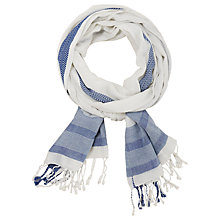 Buy Seasalt Phare Scarf, Salt Online at johnlewis.com