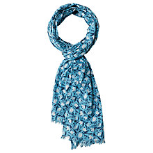 Buy Seasalt New Everyday Scarf, Petit Flower Salt Online at johnlewis.com