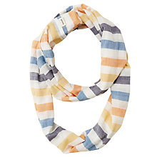 Buy Seasalt Misty Moore Stripe Scarf, Oak Way Salt Online at johnlewis.com