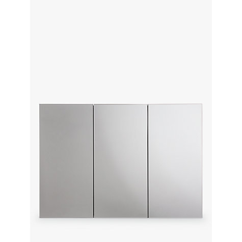 Superb Buy John Lewis Triple Mirrored Bathroom Cabinet Online At Johnlewis.com