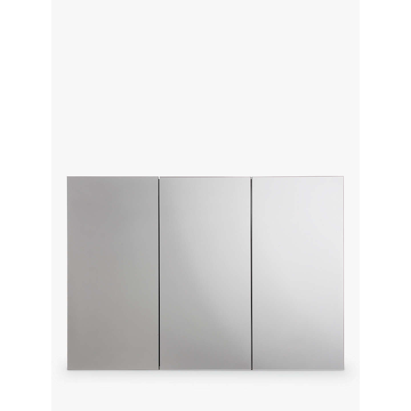 John Lewis Triple Mirrored Bathroom Cabinet at John Lewis