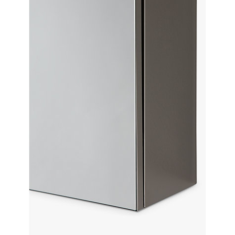 buy john lewis triple mirrored bathroom cabinet online at johnlewiscom