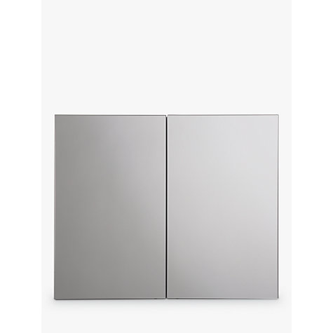 Buy John Lewis White Metal Double Bathroom Cabinet Online At Johnlewis.com