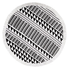 Buy John Lewis Dakara Aztec Round Beach Towel Online at johnlewis.com
