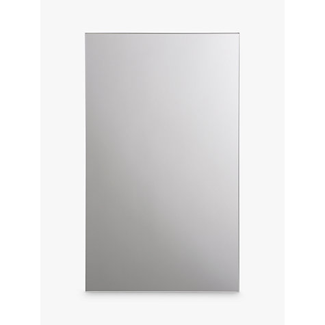 buy john lewis small single mirrored bathroom cabinet online at johnlewiscom