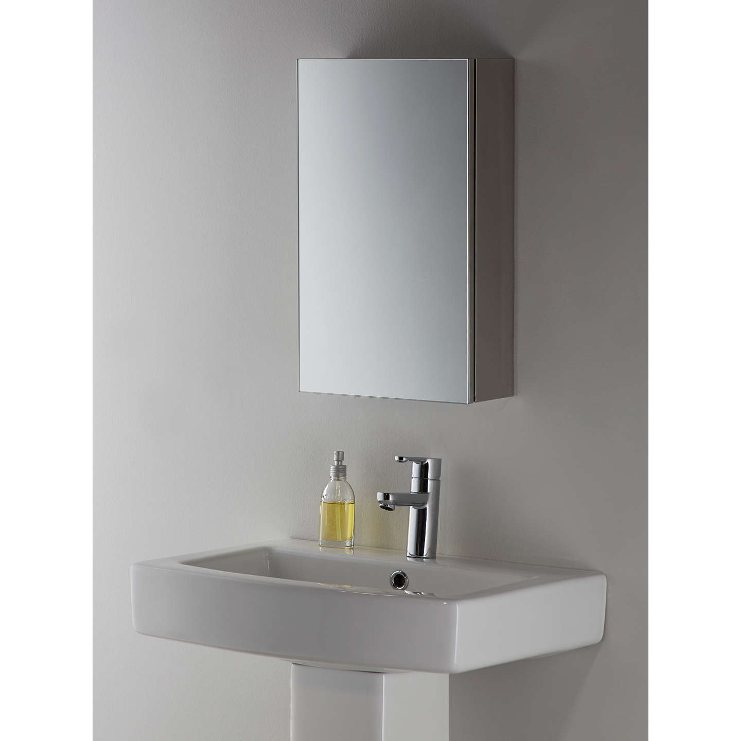 bathroom cabinet online lewis small single mirrored bathroom cabinet at 10293