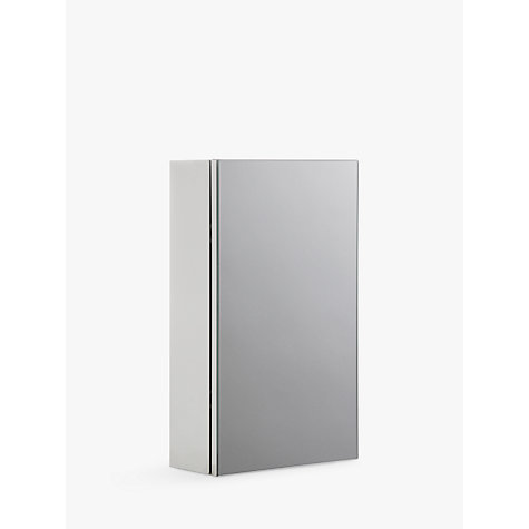 buy john lewis small single mirrored bathroom cabinet online at johnlewiscom - Bathroom Cabinets John Lewis