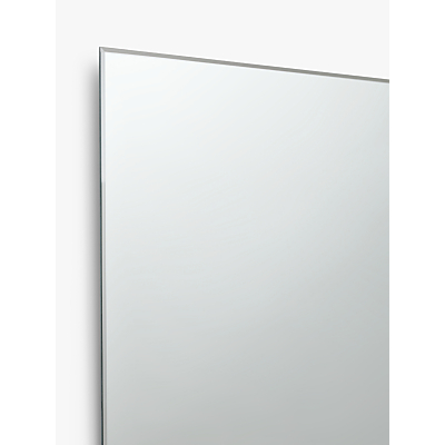 Image of John Lewis & Partners Double Mirrored Bathroom Cabinet, Silver