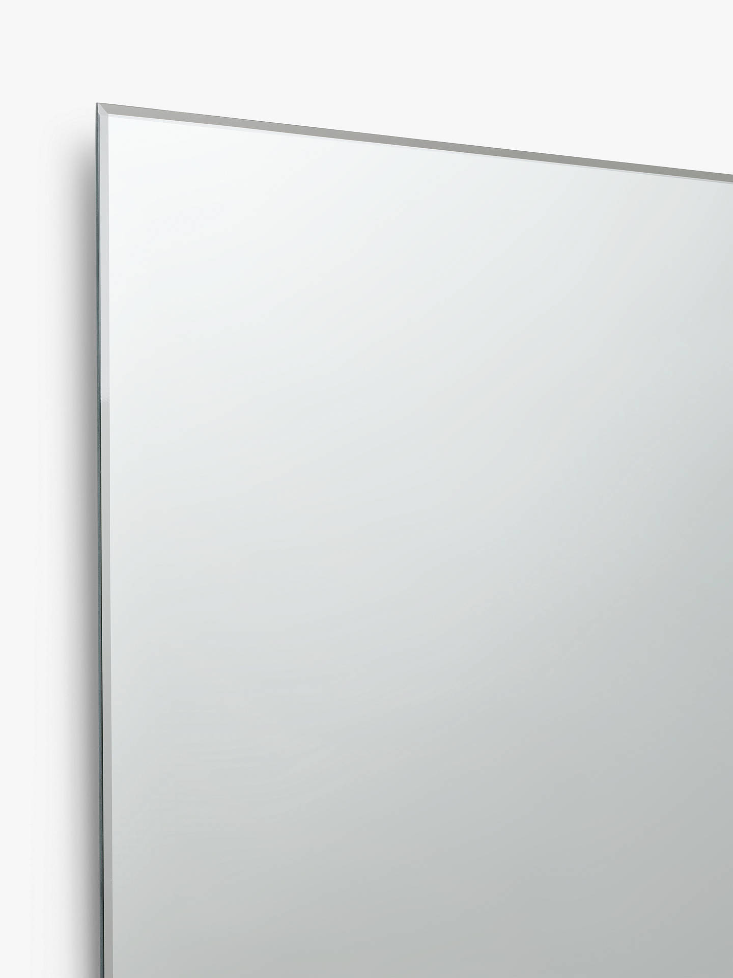 John Lewis Partners Double Mirrored Bathroom Cabinet Silver Online At Johnlewis