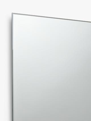 John Lewis & Partners Double Mirrored Bathroom Cabinet, Silver