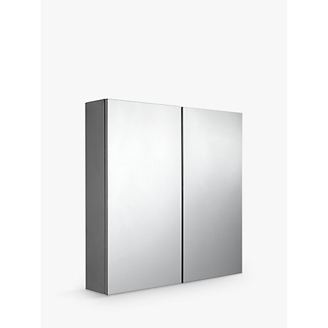 Buy John Lewis Double Mirrored Bathroom Cabinet Online At Johnlewis