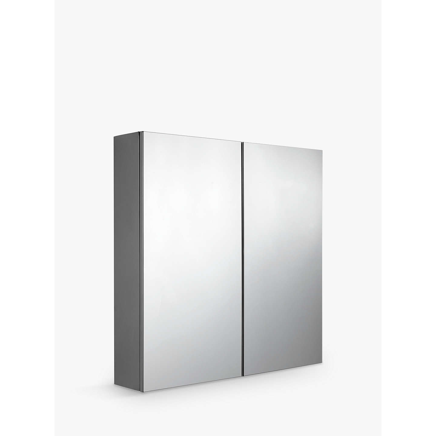 John lewis double mirrored bathroom cabinet at john lewis for Bathroom cabinets john lewis uk