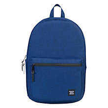 Buy Herschel Supply Co. Harrison Backpack, Navy Eclipse Crosshatch Online at johnlewis.com