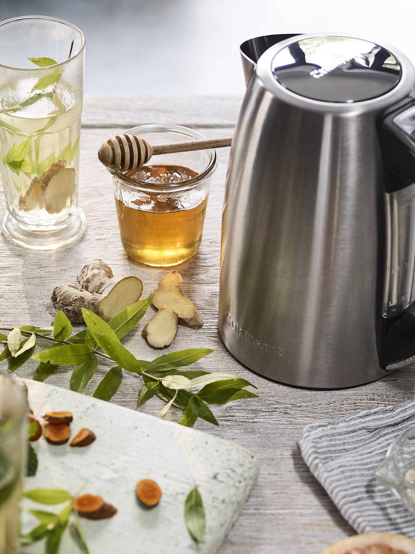 Buy Cuisinart CPK17BPU Signature Collection Multi-Temp Kettle, Brushed Stainless Steel Online at johnlewis.com