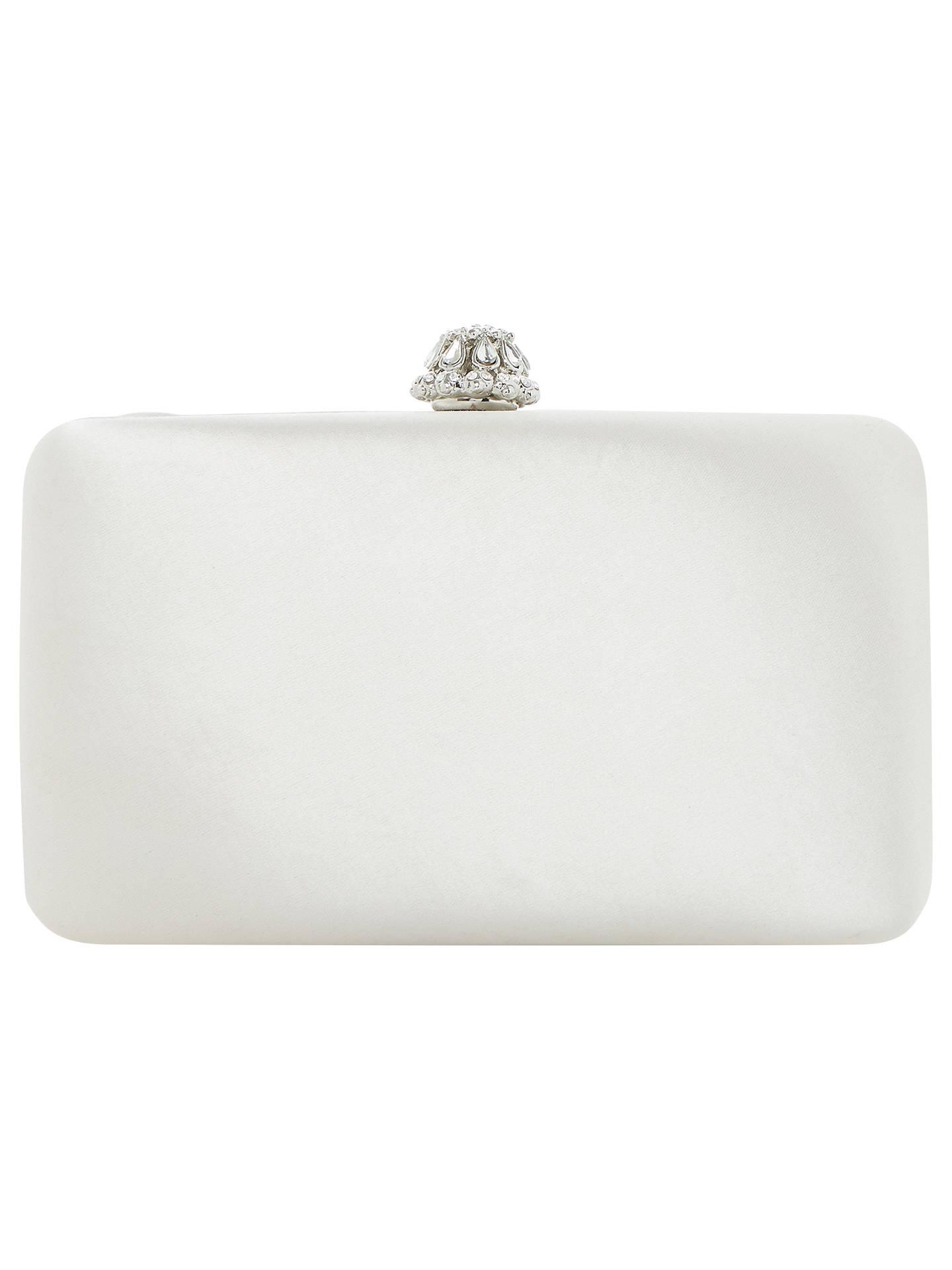 389e286fb7a Dune Bridal Collection Bridey Satin Match Clutch Bag, Ivory