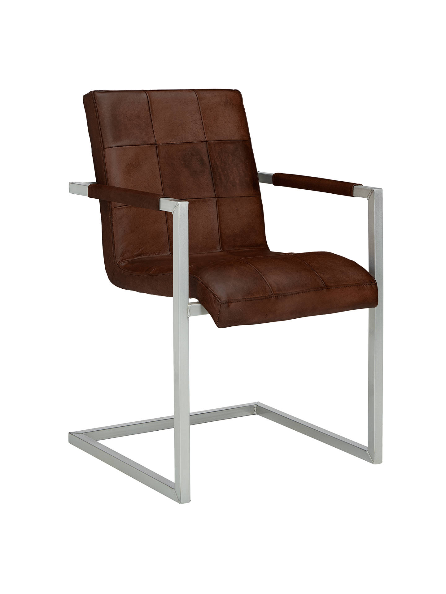 John Lewis Amp Partners Classico Leather Office Dining Chair