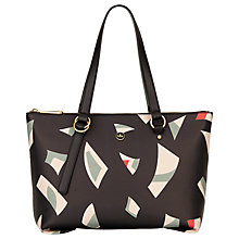 Buy Nica Nova Zip Top Shoulder Bag, Geo Print Online at johnlewis.com