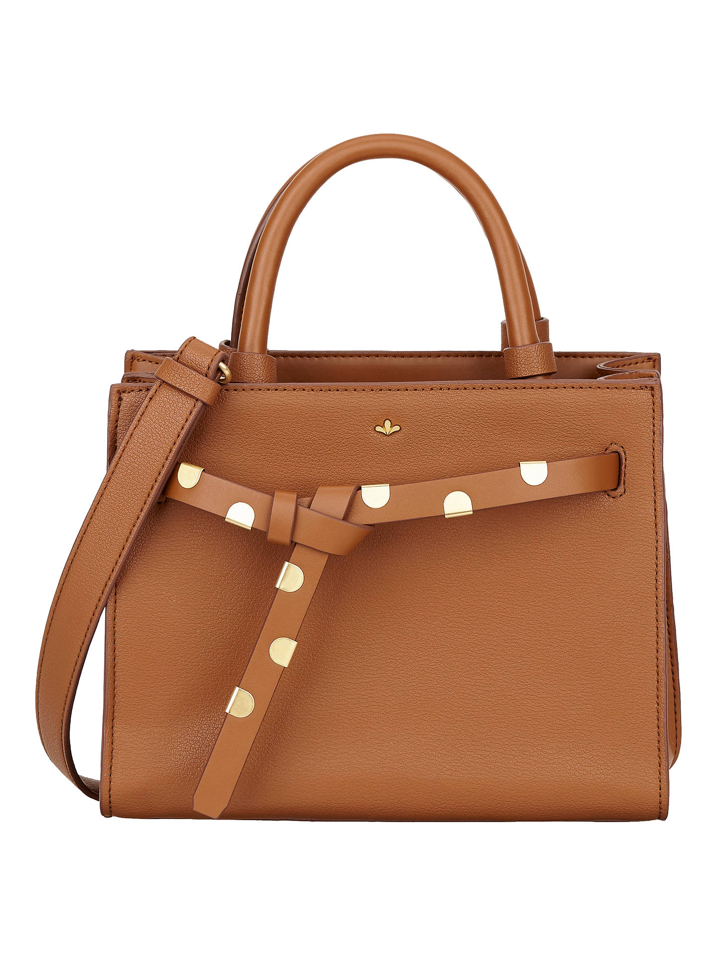 Nica Selma Small Grab Bag Chestnut Online At Johnlewis