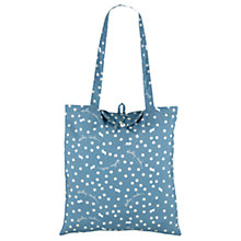 Buy Radley Vintage Dog Dot Foldaway Canvas Tote Bag Online at johnlewis.com