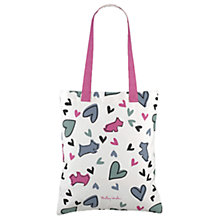 Buy Radley Love Me Love My Dog Canvas Tote Bag, Multi Online at johnlewis.com