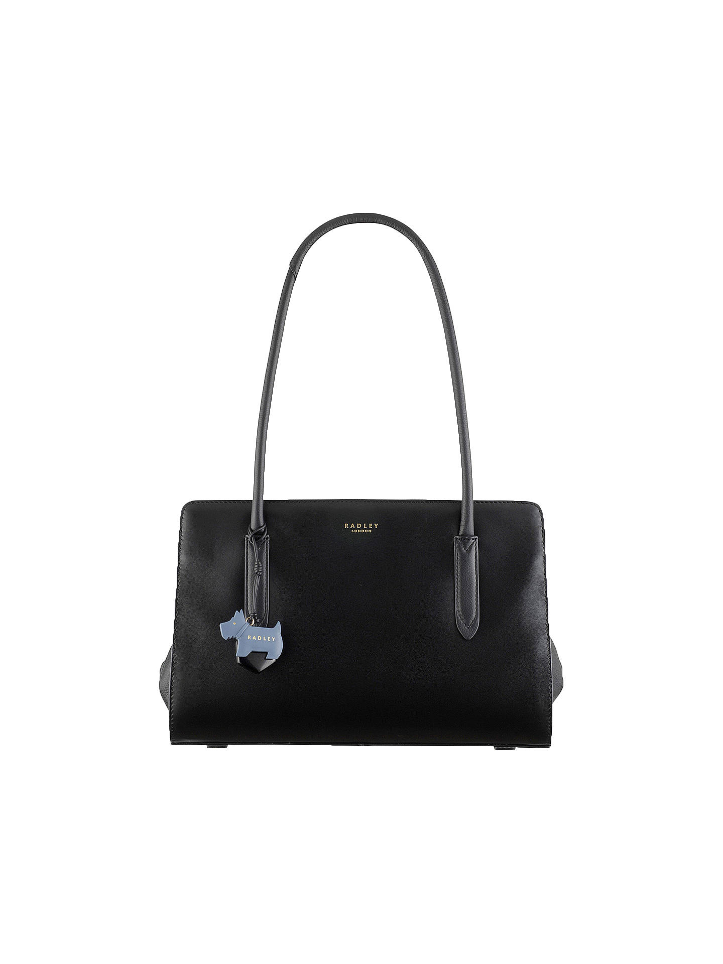Radley Corams Fields Handbag  100/% Genuine Black Medium