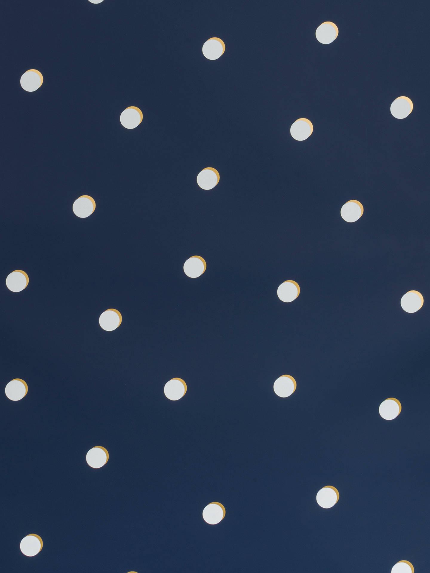 J Baker Whimsies Shadow Dot Wallpaper