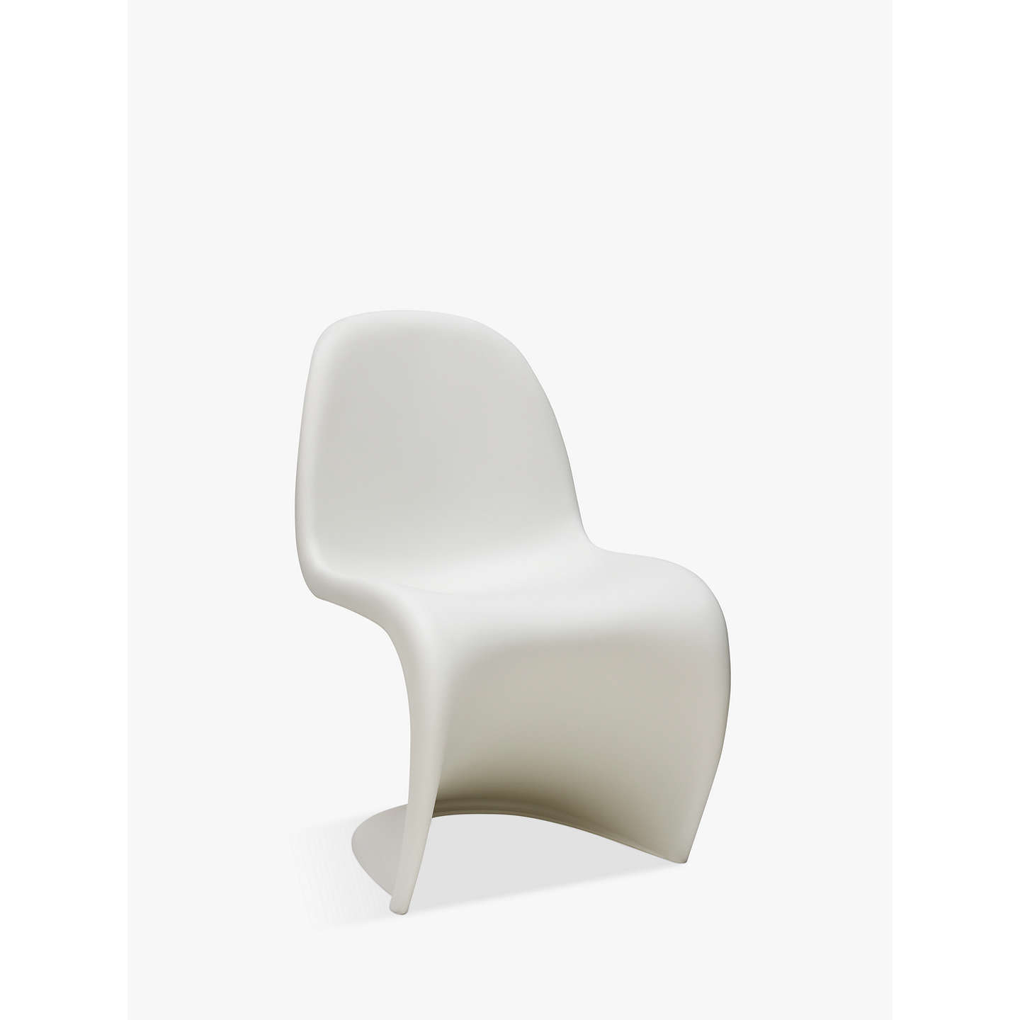 vitra panton s chair at john lewis. Black Bedroom Furniture Sets. Home Design Ideas