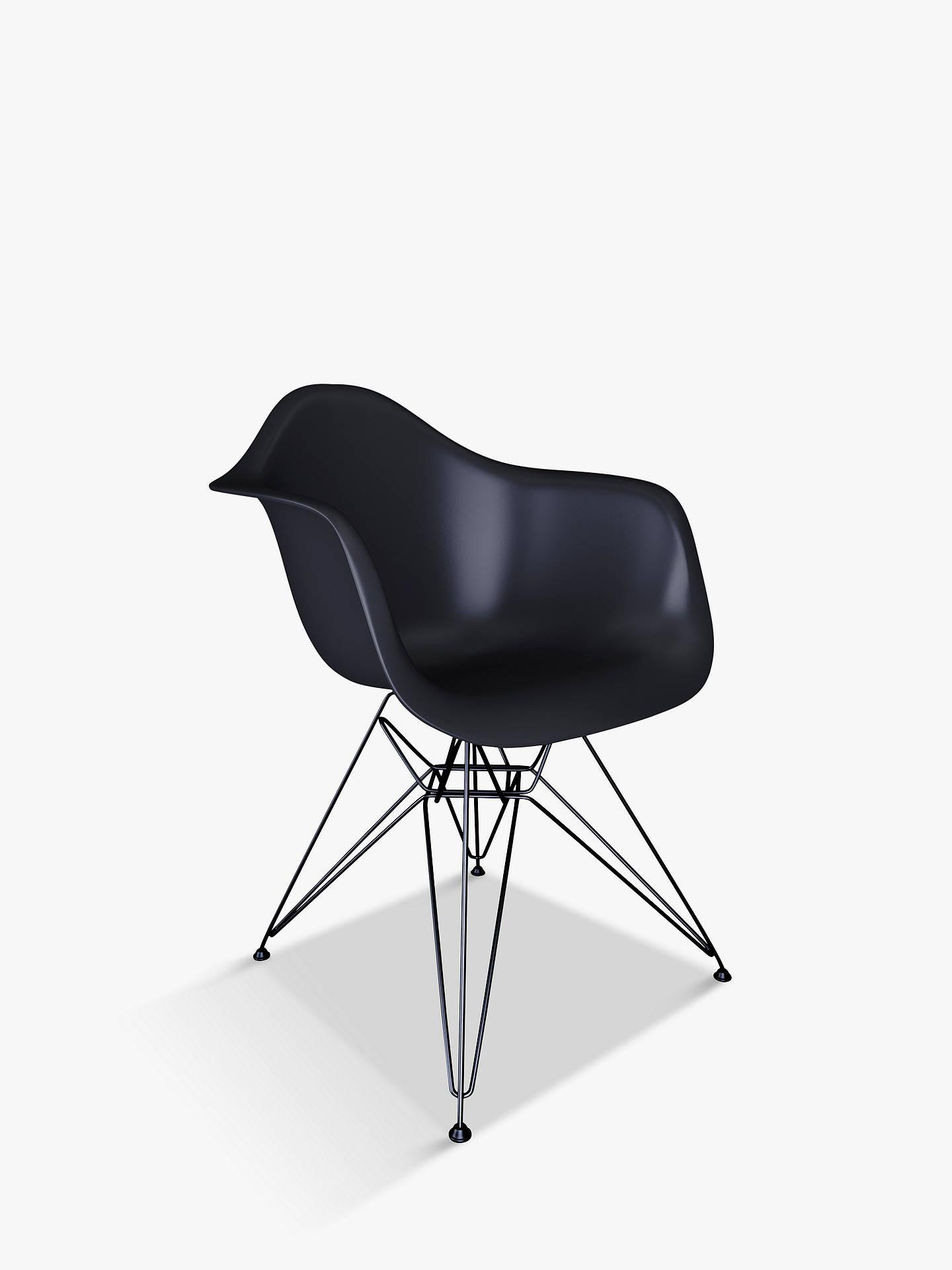 Vitra Eames DAR Armchair, Chrome Leg at John Lewis & Partners