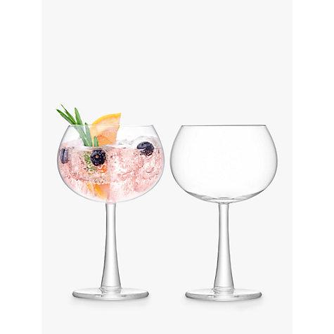 Buy Lsa International Gin Balloon Glass Set Of 2 John Lewis