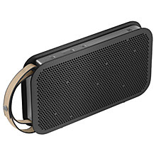 Buy B&O PLAY by Bang & Olufsen Beoplay A2 Active Portable Bluetooth Speaker Online at johnlewis.com
