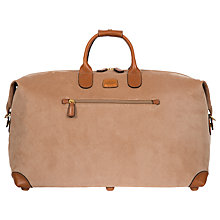 Buy Brics Life Clipper Medium Holdall, Honey Online at johnlewis.com