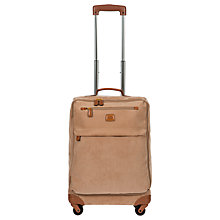 Buy Bric's Life 55cm 4-Wheel Cabin Case, Honey Online at johnlewis.com