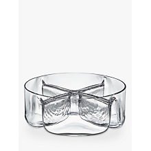 Buy John Lewis Four-Part Glass Bowl, Clear Online at johnlewis.com