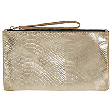 Buy Oasis Lily Leather Snake Purse Online at johnlewis.com