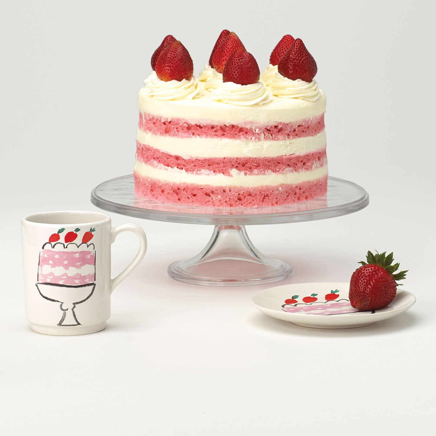Buykate Spade New York Glass Cake Stand Online At Johnlewiscom