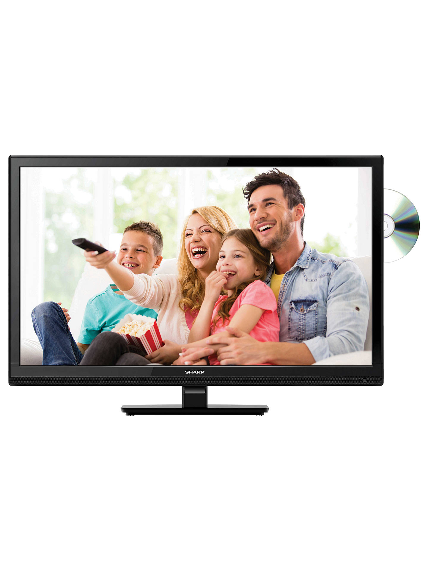 a5ffb118cb6219 BuySharp LC24DHF4011K LED HD Ready 720p TV DVD Combi, 24