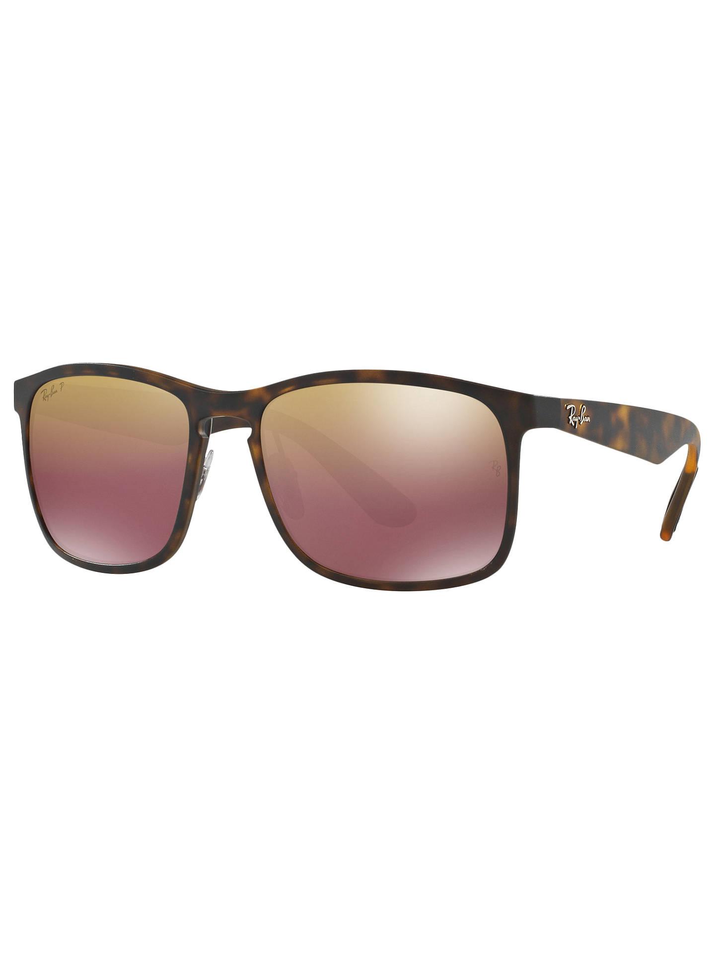 e1a811cecc129 Ray-Ban RB4264 Men s Polarised Square Sunglasses at John Lewis ...