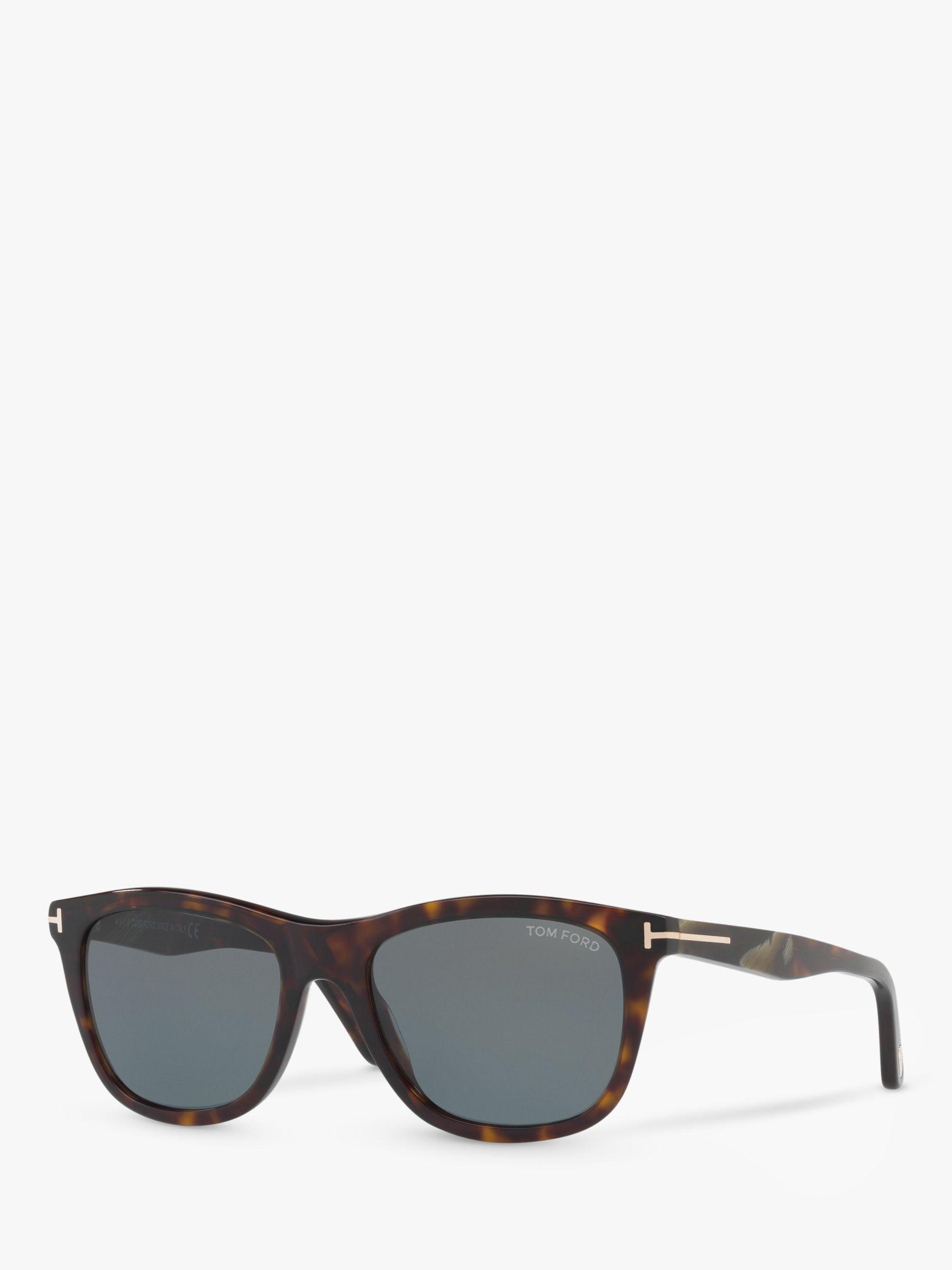 Tom Ford TOM FORD FT0500 Andrew Square Sunglasses, Tortoise/Grey