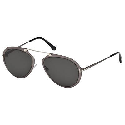 TOM FORD FT0508 Aviator Sunglasses, Grey