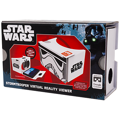 Star Wars: The Force Awakens Cardboard VR Viewer, Imperial Stormtrooper