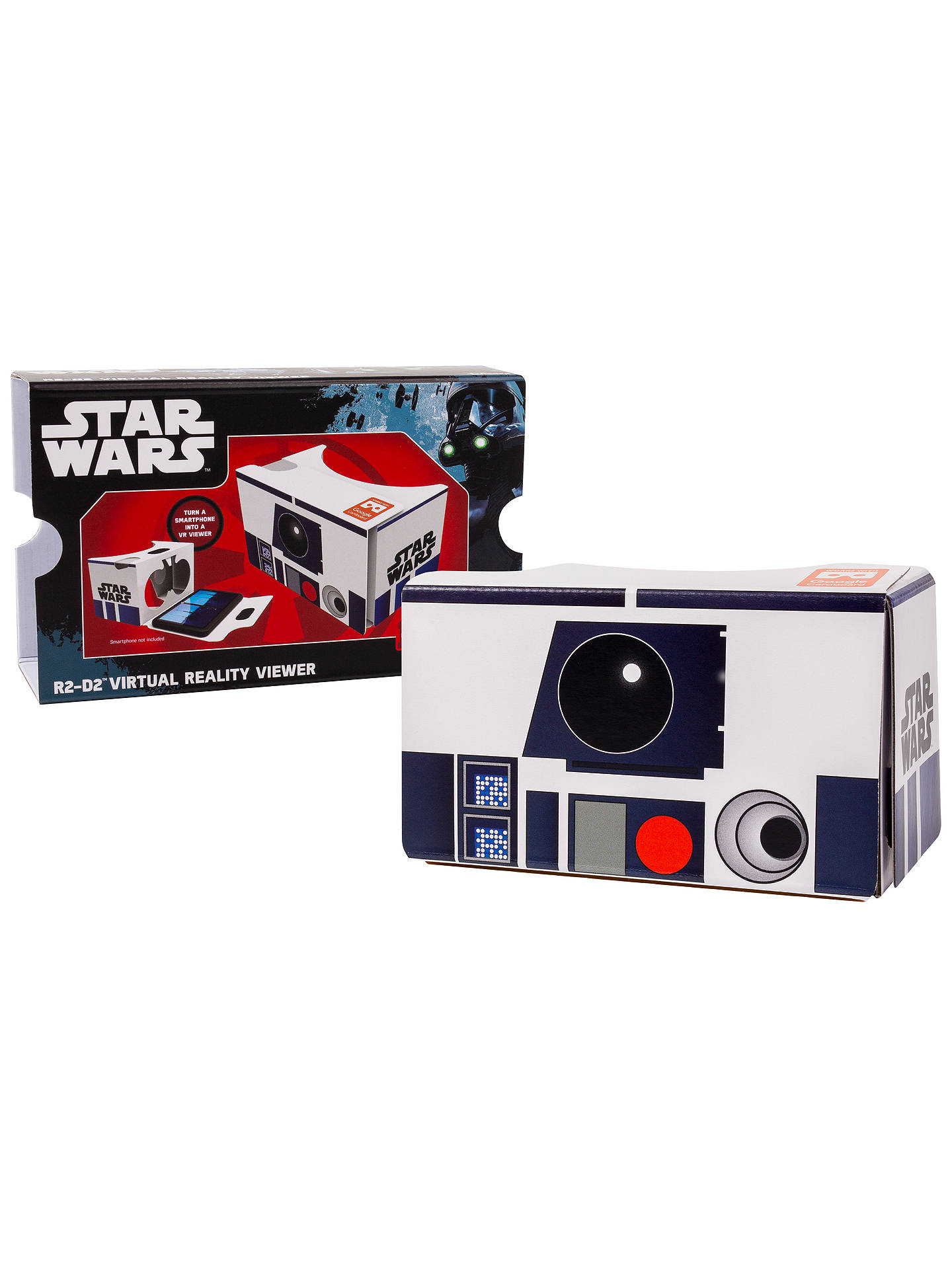 Star Wars: The Force Awakens Cardboard VR Viewer, R2-D2 at