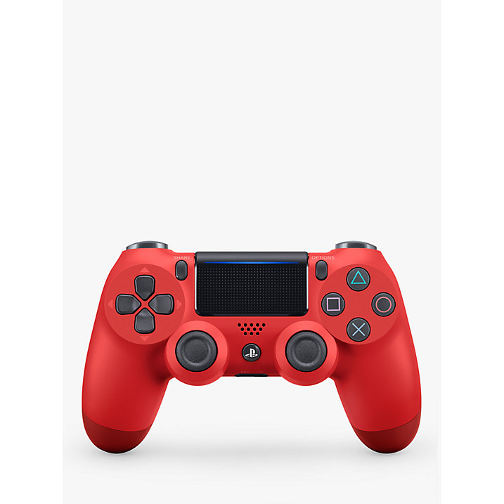 Buy Sony PS4 DUALSHOCK 4 Wireless Controller, Magma Red Online at johnlewis.com