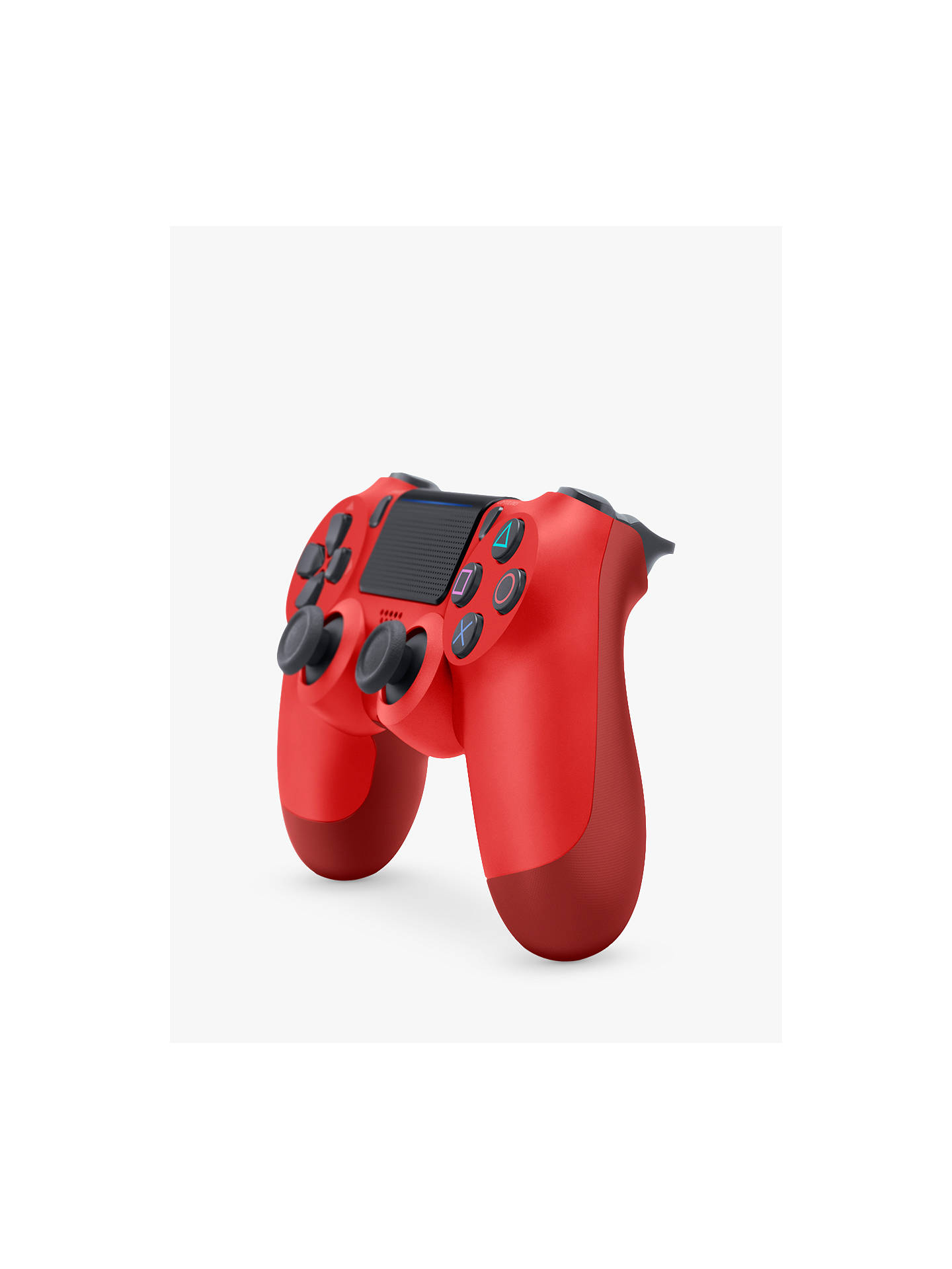 BuySony PS4 DUALSHOCK 4 Wireless Controller, Magma Red Online at johnlewis.com
