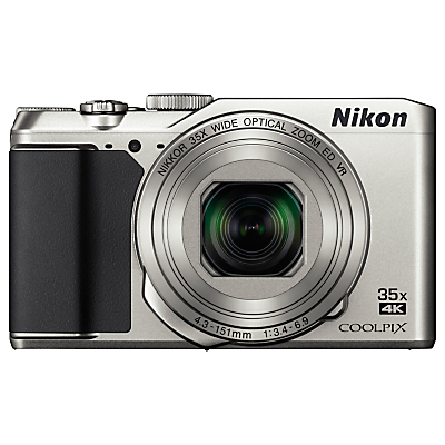 "Nikon COOLPIX A900 Digital Camera, 20.3MP, 4K Ultra HD, 35x Optical Zoom, Wi-Fi, Bluetooth & 3"" LCD Tiltable Screen"