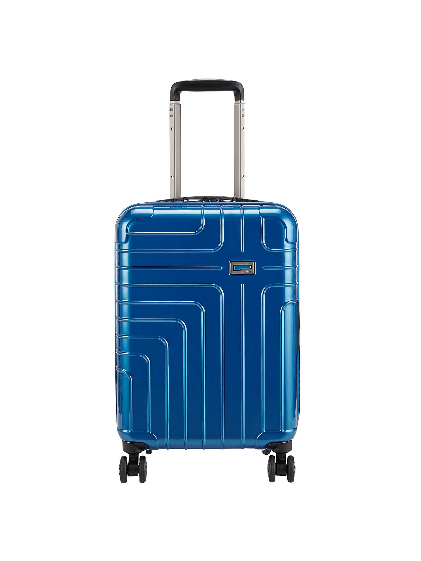 fa66232bcf67b7 Buy John Lewis Zurich 55cm 4-Wheel Cabin Case, Arctic Blue Online at  johnlewis ...