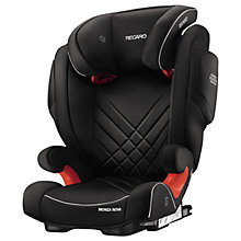 Buy Recaro Monza Nova 2 Seatfix Group 2/3 Car Seat, Performance Black Online at johnlewis.com